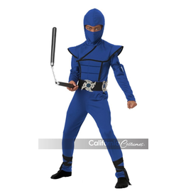 Child Blue Stealth Ninja Small (4-6) Costume