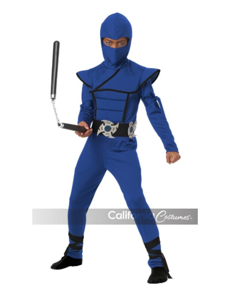 Child Blue Stealth Ninja Small (4-6) Costume