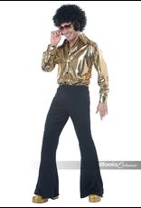 Men's Costume Disco King Large