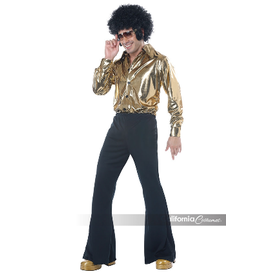 Men's Costume Disco King Large