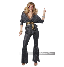 Women's Costume Disco Dazzler Large