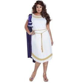 Women's Costume Grecian Toga Dress Small
