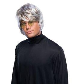Popstar Silver Wig