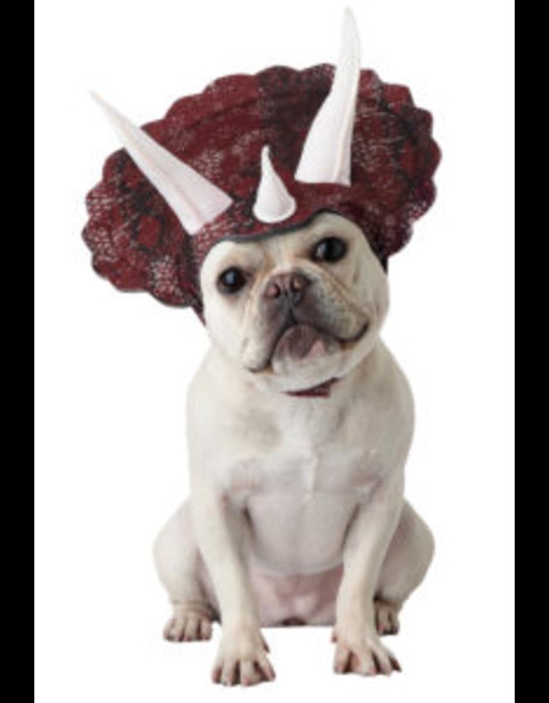 Dog Costume Triceradog Small