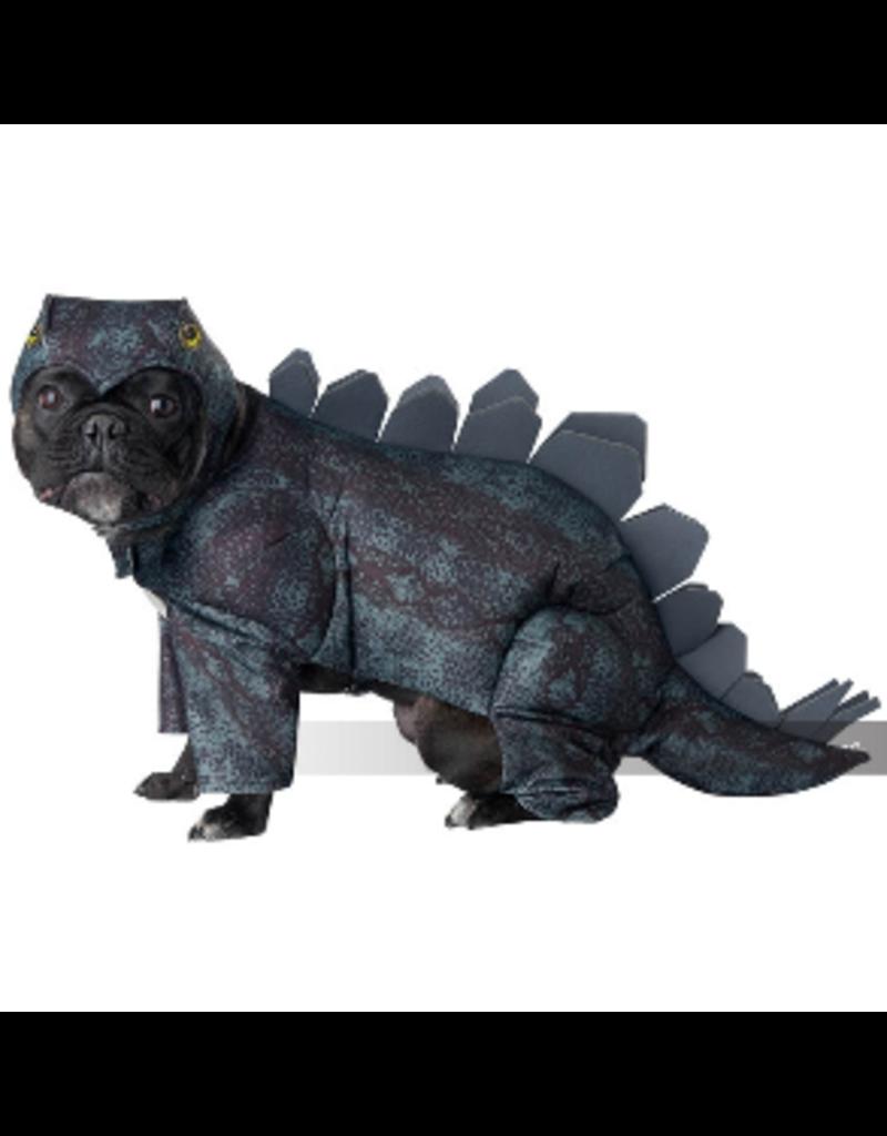Dog Costume Stegosaurus Medium