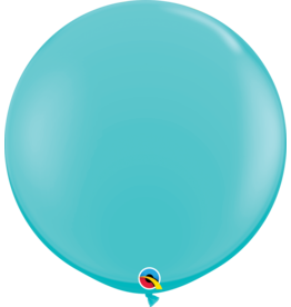 """36"""" Carribbean Blue Balloon Uninflated"""