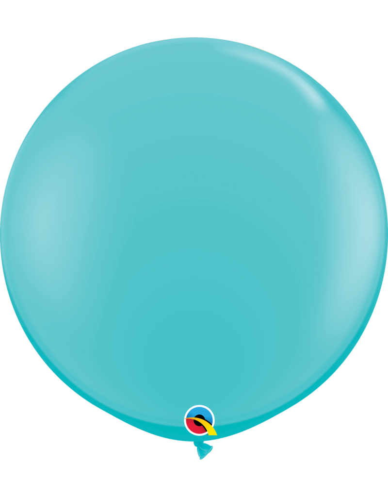"36"" Carribbean Blue Balloon (Without Helium)"