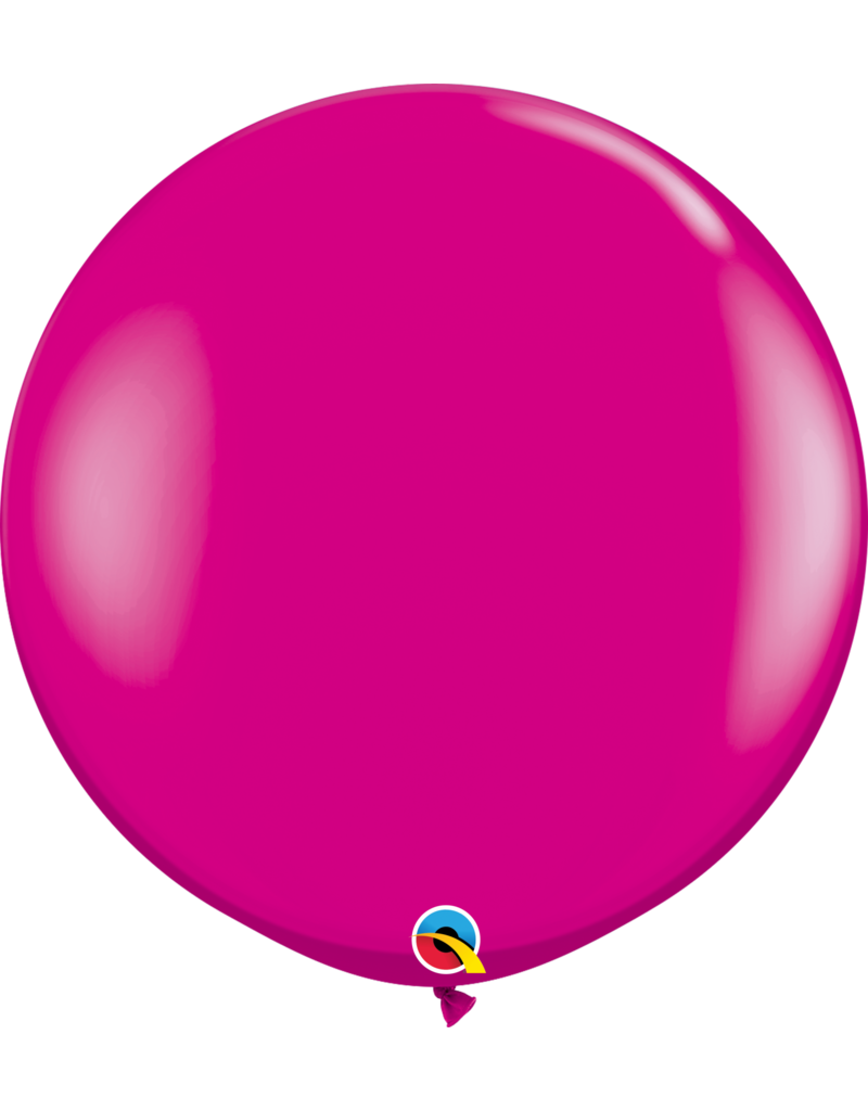 "36"" Wildberry Balloon (Without Helium)"
