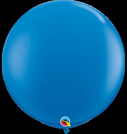 "36"" Dark Blue Balloon Uninflated"