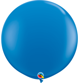 "36"" Dark Blue Balloon (Without Helium)"