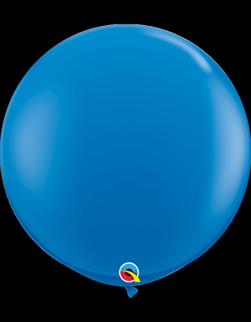 """36"""" Dark Blue Balloon (Without Helium)"""