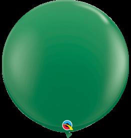 "36"" Green Balloon Uninflated"