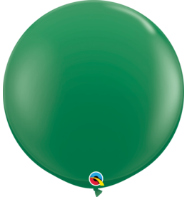 "36"" Green Balloon (Without Helium)"