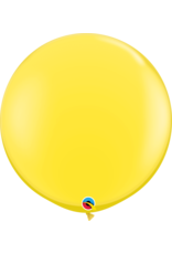 "36"" Yellow Balloon (Without Helium)"