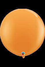 "36"" Orange Balloon (Without Helium)"
