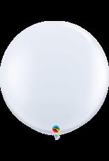 """36"""" White Balloon (Without Helium)"""