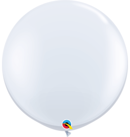 "36"" White Balloon (Without Helium)"