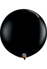 "36"" Onyx Black Balloon (Without Helium)"