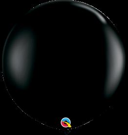 "36"" Onyx Black Balloon Uninflated"