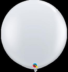 "36"" Diamond Clear Balloon Uninflated"