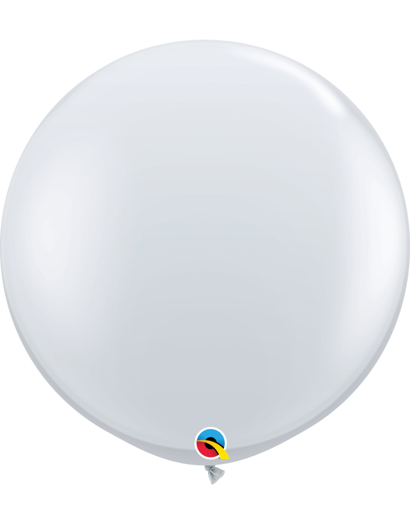 "36"" Diamond Clear Balloon (Without Helium)"