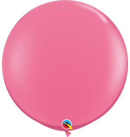 "36"" Rose Balloon (Without Helium)"