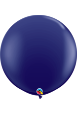 """36"""" Navy Balloon (Without Helium)"""