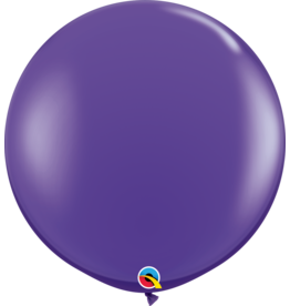 "36"" Purple Violet Balloon (Without Helium)"