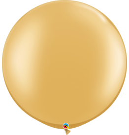 """30"""" Gold Balloon Uninflated"""