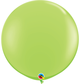 """36"""" Lime Green Balloon Uninflated"""