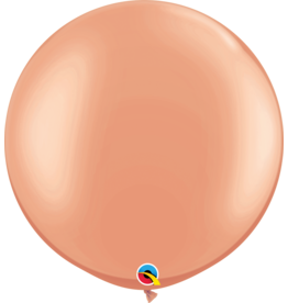 """30"""" Rose Gold Balloon Uninflated"""
