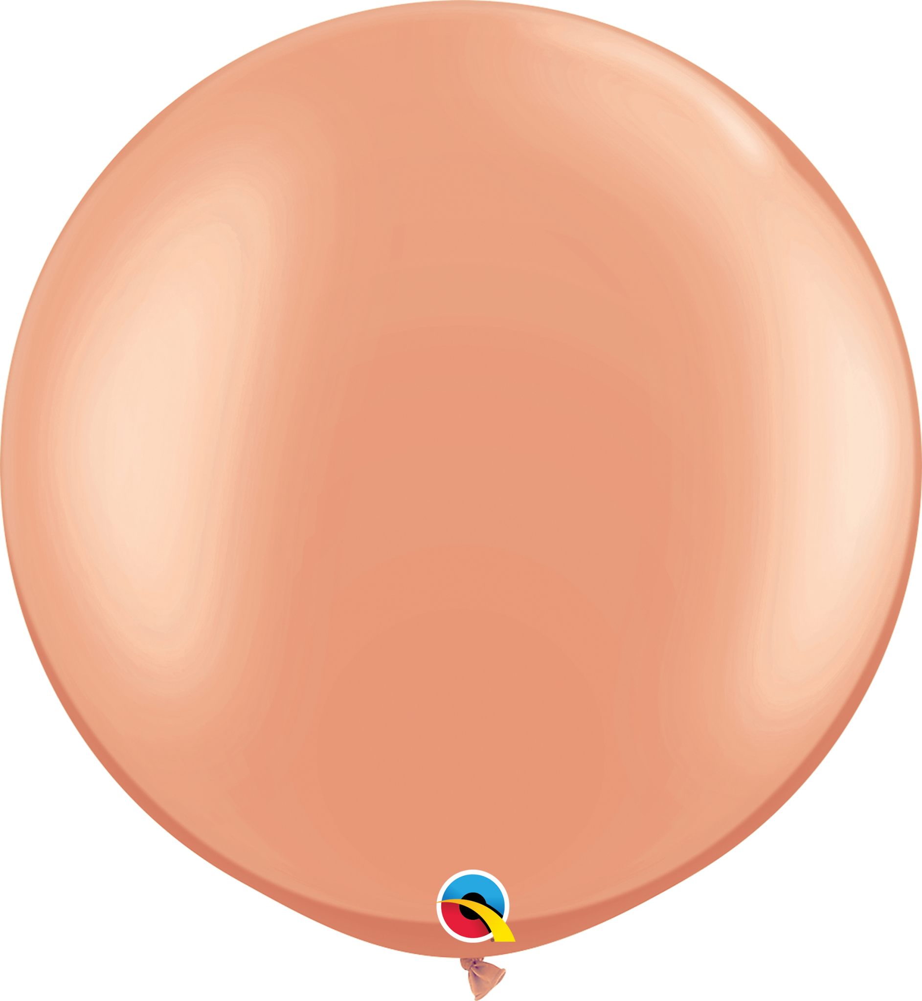 """30"""" Rose Gold Balloon (Without Helium)"""