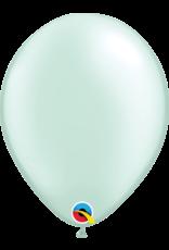 "11"" Pearl Mint Green Latex Balloon Uninflated"