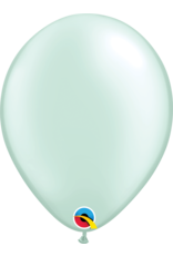 "11"" Pearl Mint Green Latex Balloon (Without Helium)"