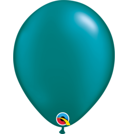 "11"" Pearl Teal Latex Balloon (Without Helium)"