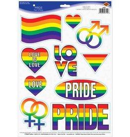Pride Peel & Place Vinyl Stickers