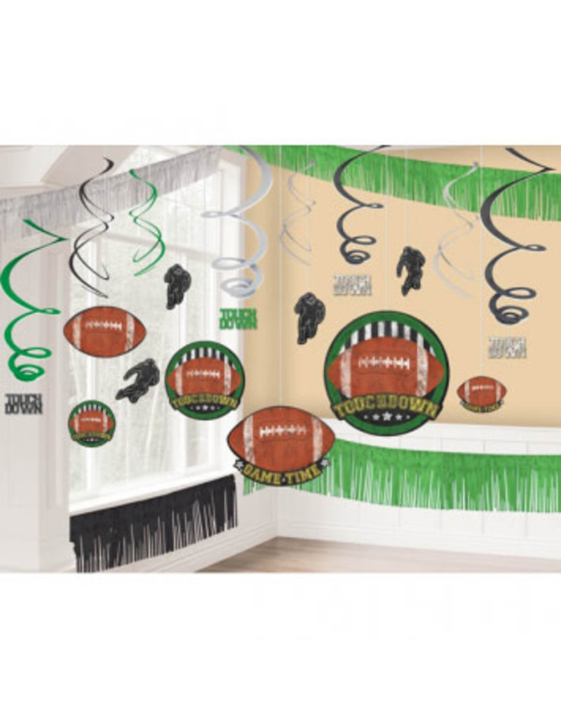 Football Giant Room Decorating Kit
