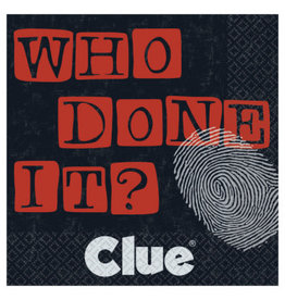 Clue Who Done It Beverage Napkins (16)