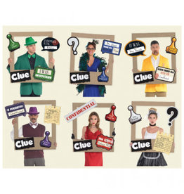 Clue® Giant Playing Card Photo Frame