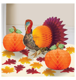 Traditional Thanksgiving Table Decorating Kit