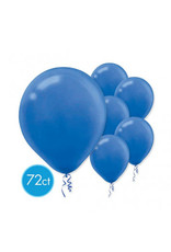 "Bright Royal Blue 11"" Latex Balloons (72)"