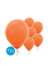 "Orange Peel 11"" Latex Balloons (72)"