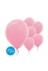 "New Pink 11"" Latex Balloons (72)"