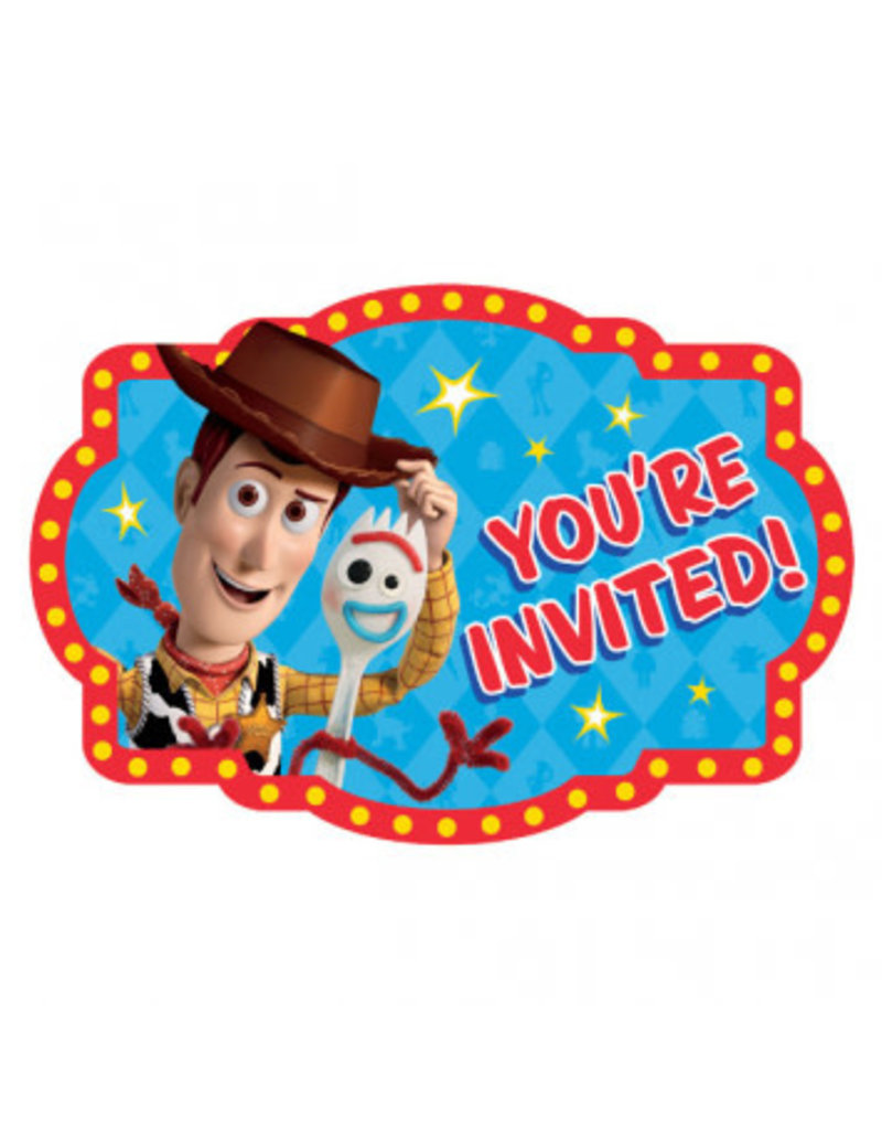 Disney/Pixar Toy Story 4 Postcard Invitation (8)