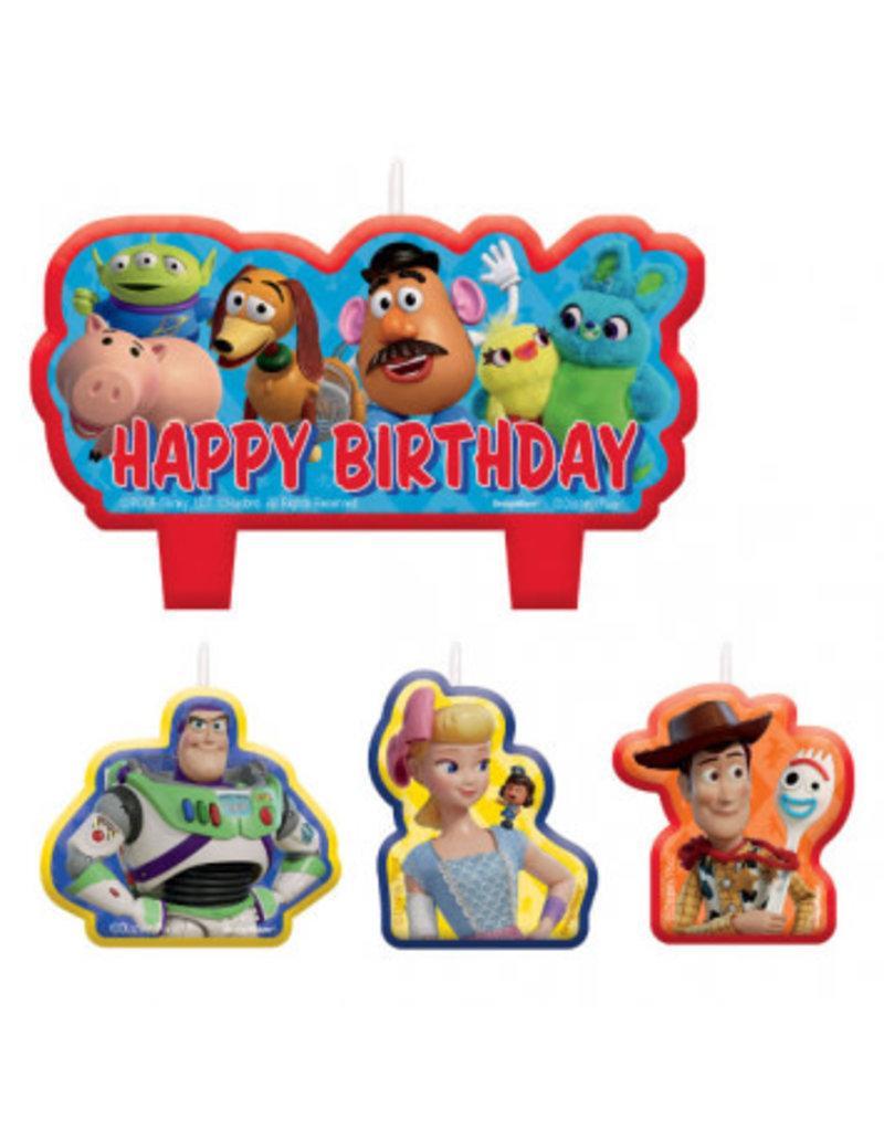 Disney/Pixar Toy Story 4 Birthday Candle Set
