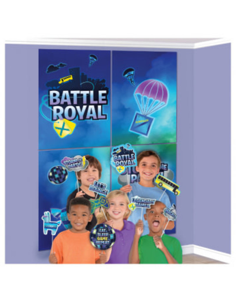 Battle Royal Scene Setters with Props