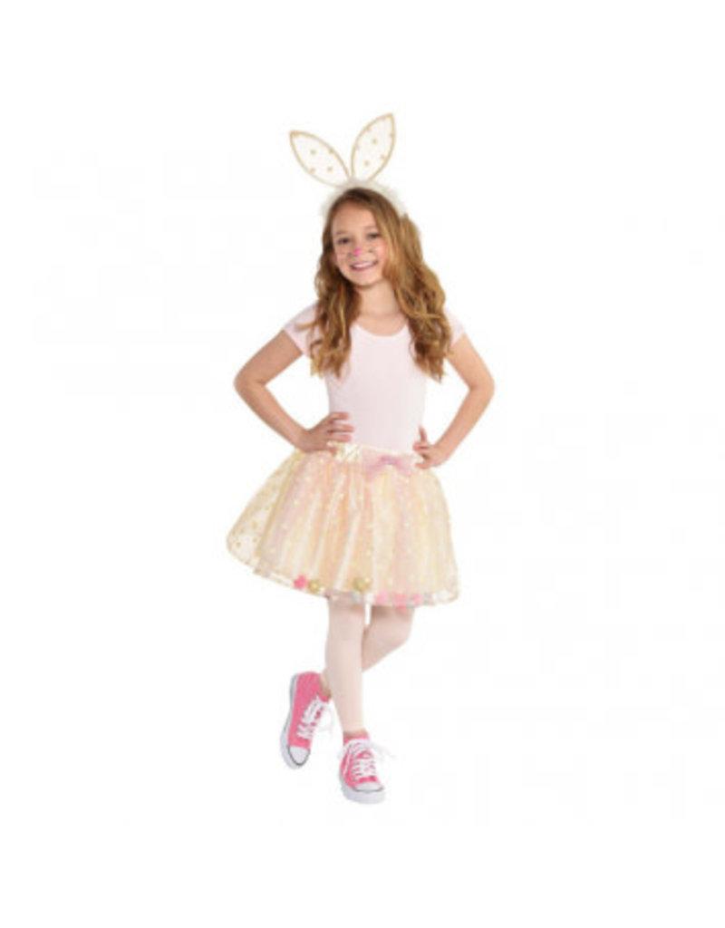 Child Bunny Ears & Tutu One Size