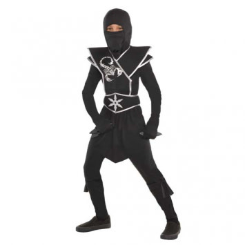 Child Black Ops Ninja - Large (12-14)
