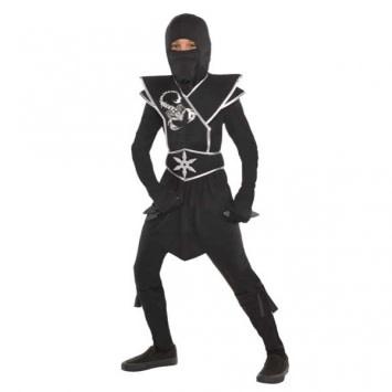 Child Black Ops Ninja - Medium (8-10)