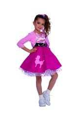 Child 50s Girl - Small (4-6) Costume